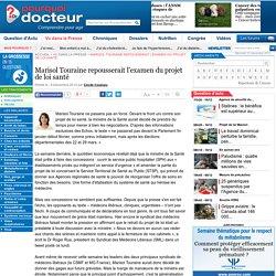 Marisol Touraine repousserait l'examen du projet de loi santé