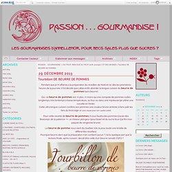 TOURBILLON DE BEURRE DE POMMES