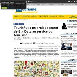 Tourinflux : un projet concret de Big Data au service du tourisme