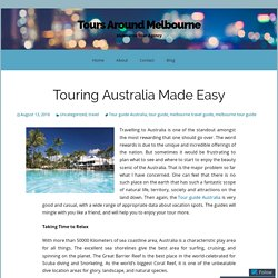 Touring Australia Made Easy