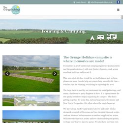 Touring & Camping - Grange Holidays Flamborough