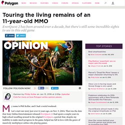 Touring the living remains of an 11-year-old MMO