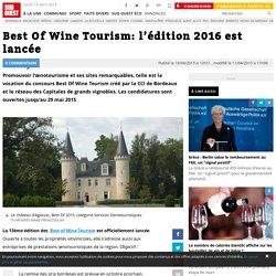 Best Of Wine Tourism: l'édition 2016 est lancée