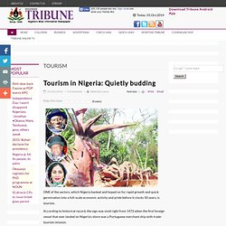 Tourism in Nigeria: Quietly budding
