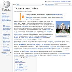 Tourism in Uttar Pradesh