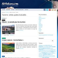 Tourisme - articles