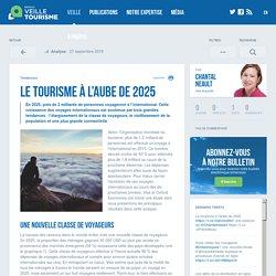 Le tourisme à l'aube de 2025 - Veilletourisme.ca