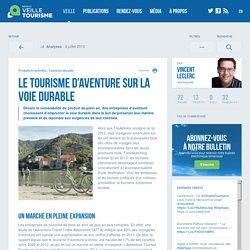 » Le tourisme d'aventure sur la voie durable