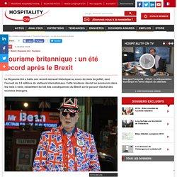 Tourisme britannique : un été record après le Brexit