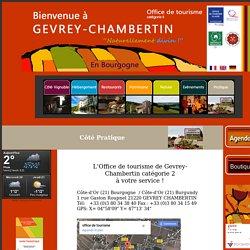 Office de tourisme du canton de Gevrey-Chambertin en Bourgogne
