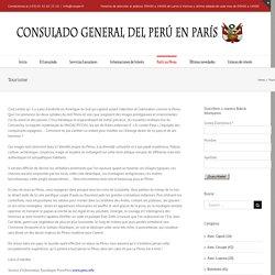 Tourisme – CONSULADO GENERAL DEL PERÚ EN PARÍS
