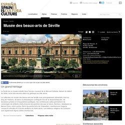 Musées de Séville, Espagne: Museo de Bellas Artes de Sevilla. Tourisme culturel en Andalousie.