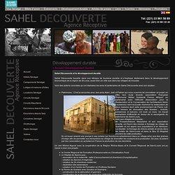 Développement durable - Sahel Découverte, Africa Travel Group Sénégal