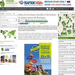 Salon du tourisme durable et des loisirs de pleine nature de Bretagne
