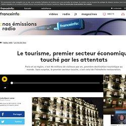 Le tourisme, premier secteur économique touché par les attentats