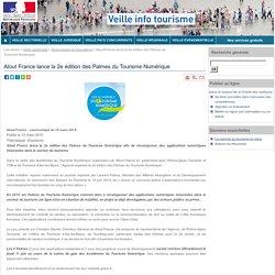 Atout France lance la 2e édition des Palmes du Tourisme Numérique