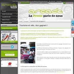 Tourisme et vélo, duo gagnant ! - Arcade Cycles