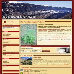 Tourisme Hautes Pyrenees, Guide tourisme Hautes Pyrenees