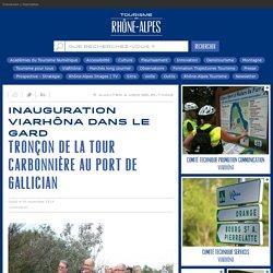 Inauguration ViaRhôna dans le Gard