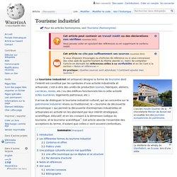 Tourisme industriel