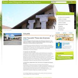 """Office du Tourisme-Inforville - Une """"nouvelle"""" Place des Sciences"""