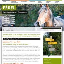 Mairie de Ferel - Tourisme / Loisirs : Randonnées