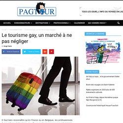 Le tourisme gay, un marché à ne pas négliger