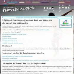 Office de Tourisme Palavas-les-flots : OMT Eco-raisonnable