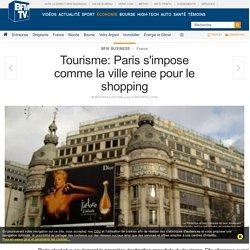 Tourisme: Paris s'impose comme la ville reine pour le shopping