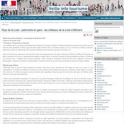 Pays de la Loire : patrimoine en gare - les châteaux de la Loire s'affichent