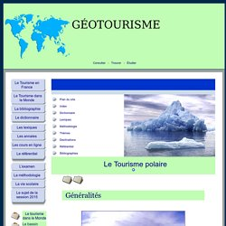 Tourisme polaire