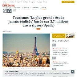 """Tourisme: """"La plus grande étude jamais réalisée"""" basée sur 3,7 millions d'avis (Ipsos/Spella) - Le Journal du Centre"""