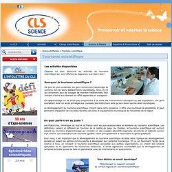 Tourisme scientifique - CLS du Saguenay-Lac-Saint-Jean