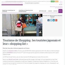 Tourisme de Shopping : les touristes japonais et leur « shopping list » - Maxity