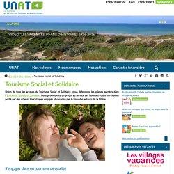 Unat, tourisme social et solidaire