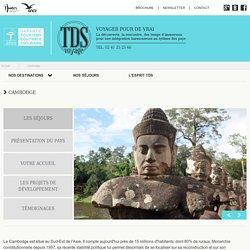 Tourisme solidaire au Cambodge (Asie) avec TDS Voyages