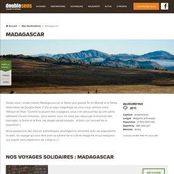 Tourisme et voyage solidaire à Madagascar