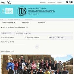 Tourisme solidaire en groupe avec TDS Voyages