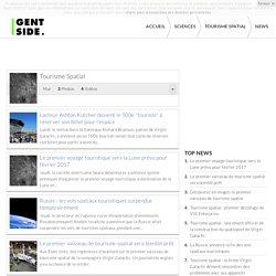 Tourisme Spatial : Actualités