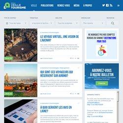 e-tourisme et technologies » Réseau de veille en tourisme