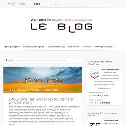 E-tourisme : les tendances tourisme et web 2016 MAJ