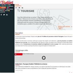 Les métiers du tourisme : travailler dans le secteur du tourisme - L'Etudiant