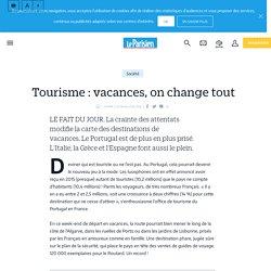 Tourisme : vacances, on change tout - Le Parisien