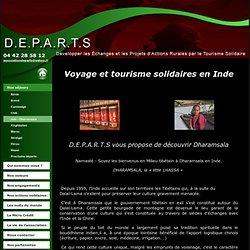 D.E.P.A.R.T.S / Tourisme, séjour, vacances, voyage solidaires en Inde