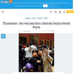 Tourisme : les vacanciers chinois boycottent Paris - Le Parisien