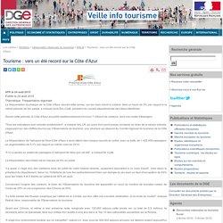 Tourisme : vers un été record sur la Côte d'Azur