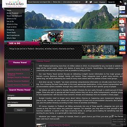 The official travel information website for tourists visiting Thailand