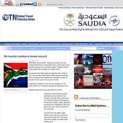 SA tourist numbers break record
