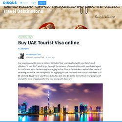 Buy UAE Tourist Visa online