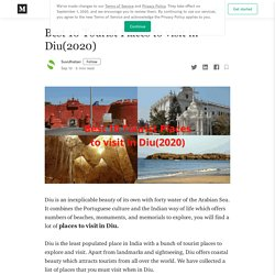 Best 10 Tourist Places to visit in Diu(2020)